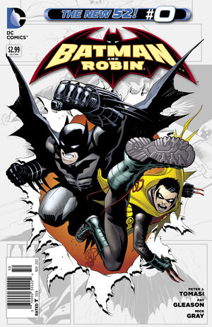 Cover for Batman and Robin #0