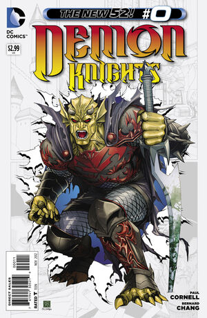 Cover for Demon Knights #0