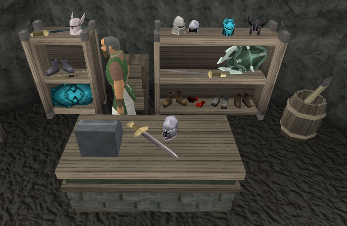 Fist of Guthix shop