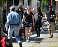 Lily-collins-jamie-campbell-bower-kiss-on-set-06