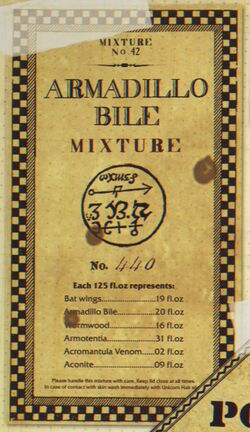 Armadillo Bile Mixture