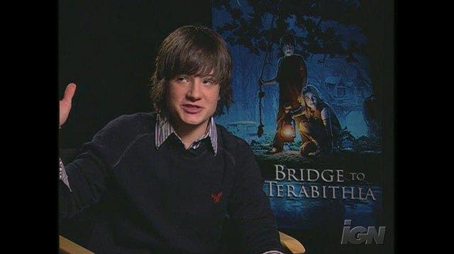 Bridge to Terabithia Movie Interview - JOSH HUTCHERSON