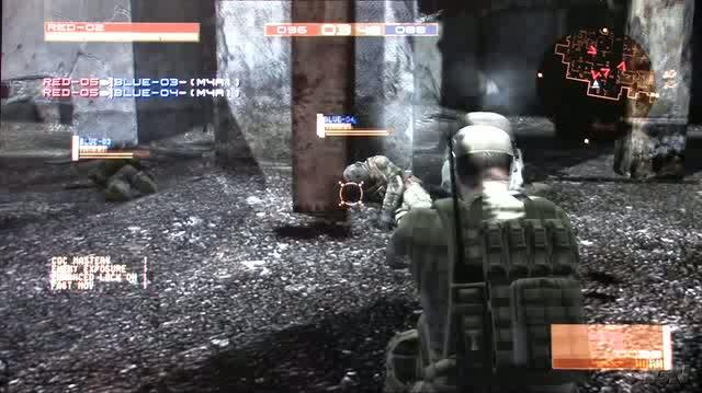 Metal Gear Online PlayStation 3 Gameplay - TGS 2007 Return The Favor (Off-Screen HD)