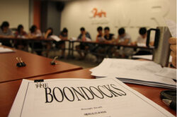 Boondocks reading1