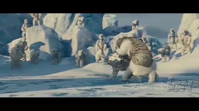 The Golden Compass Movie Clip - Bear Fight