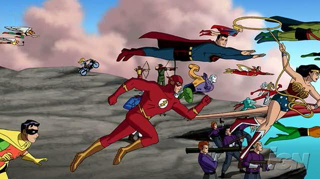 Justice League The New Frontier DVD Trailer - Trailer