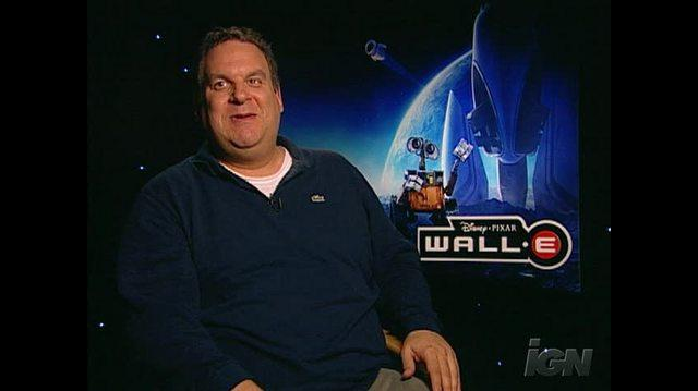 WALL& 8226;E Movie Interview - Jeff Garlin