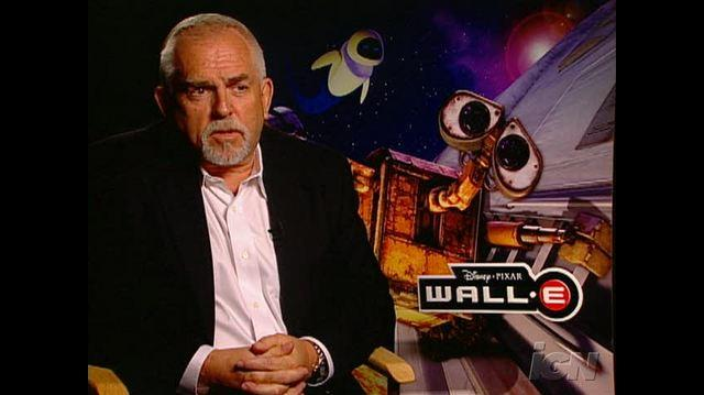 WALL& 8226;E Movie Interview - John Ratzenberger
