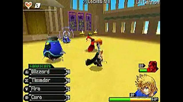 Kingdom Hearts 358 2 Days Nintendo DS Gameplay - Olympus Gameplay