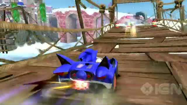 Sonic & SEGA All-Stars Racing Nintendo Wii Trailer - Wii Lifestyle Trailer