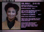 Marla Finn&#39;s personnel file