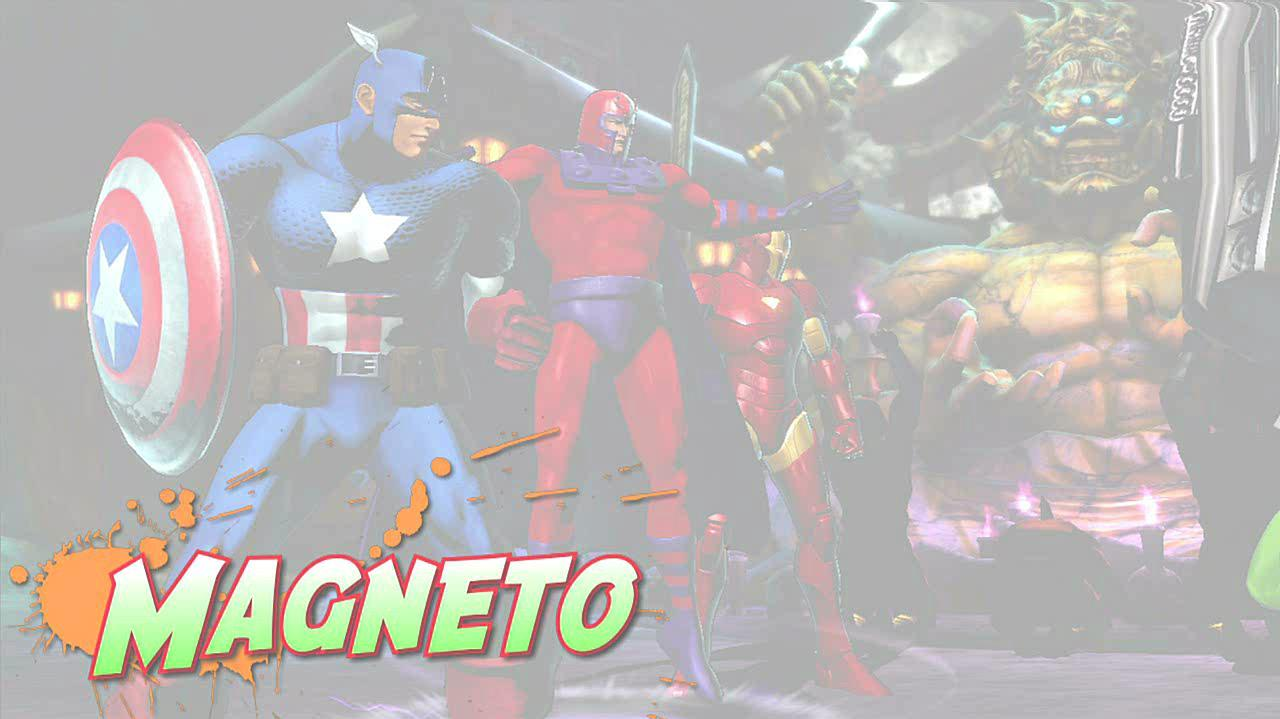 Marvel vs. Capcom 3 Magneto Gameplay