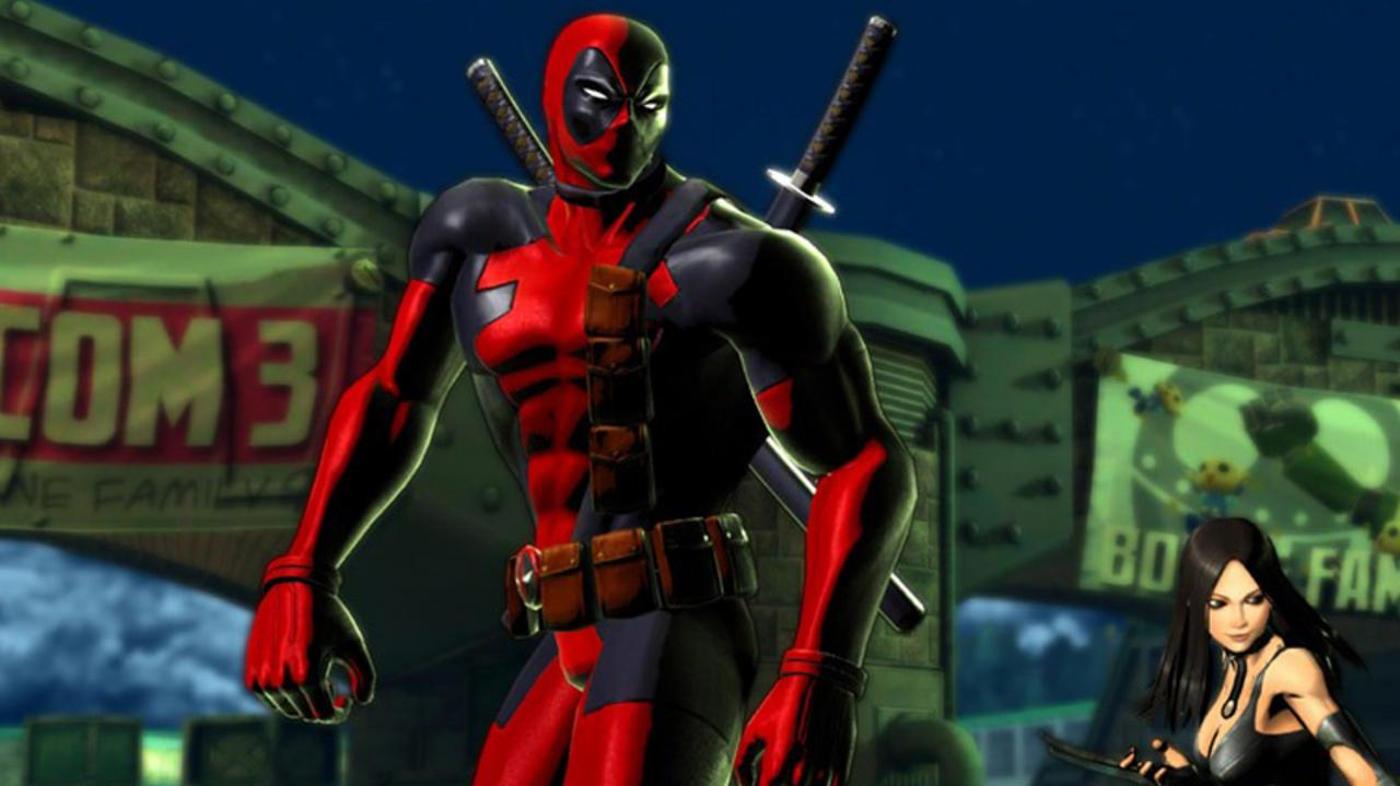 Marvel vs. Capcom 3 Deadpool Gameplay