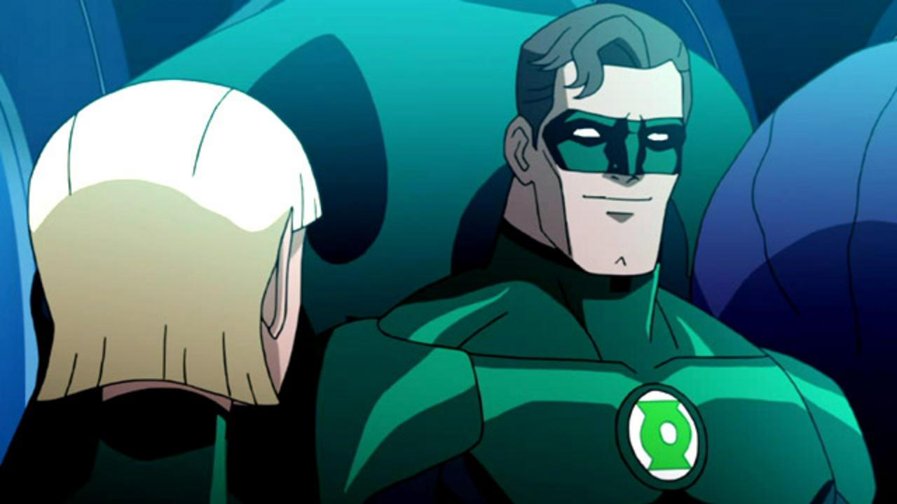 "Green Lantern Emerald Knights - ""Charging"" Clip"