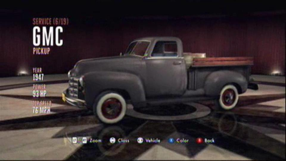 L.A. Noire Hidden Vehicles Service - GMC Pickup - Downtown, Central