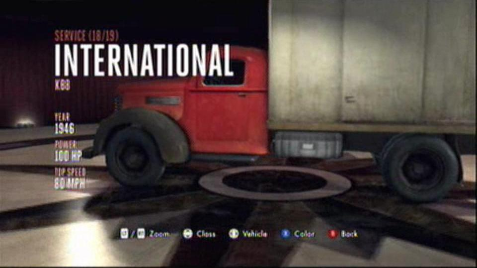 L.A. Noire Hidden Vehicles Service - International KB8 2 - East Downtown