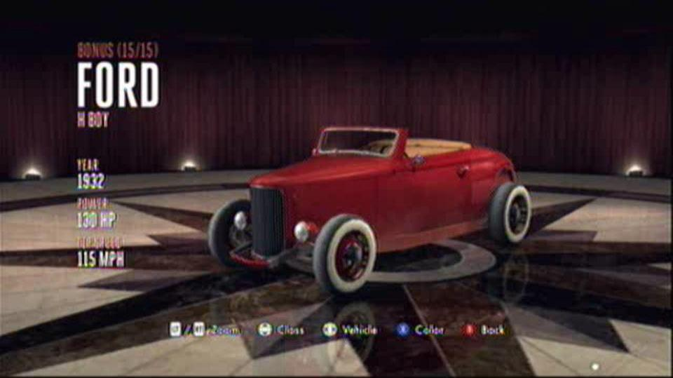 L.A. Noire Hidden Vehicles Bonus - Ford H Boy