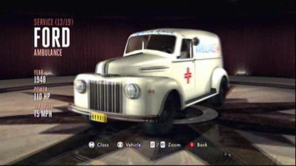 L.A. Noire Hidden Vehicles Service - Ford Ambulance - Central