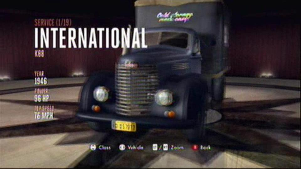 L.A. Noire Hidden Vehicles Service - International KB8 - East Downtown