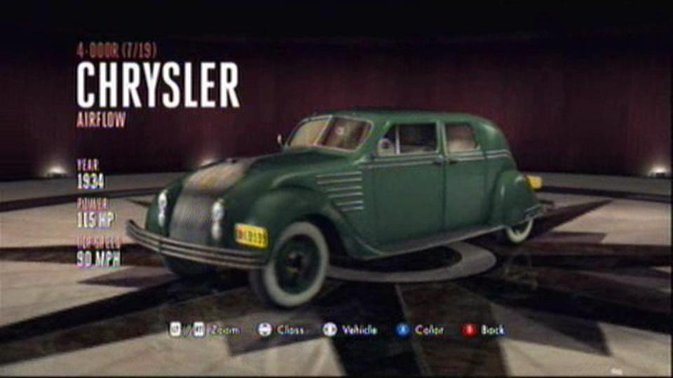 L.A. Noire Hidden Vehicles 4-Door - Chrysler Airflow - Downtown, Central