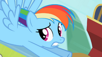 Rainbow Dash tough crowd S2E8