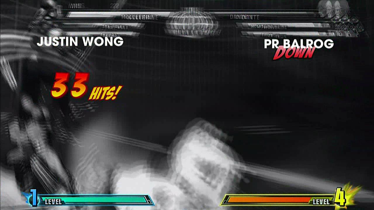 Marvel vs. Capcom 3 - Evo 2011 Justin Wong vs. PR Balrog