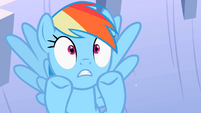 Rainbow Dash get flooded S2E8