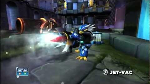 Skylanders Giants Jet Vac HD Trailer