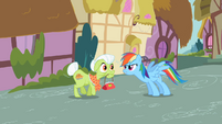 Rainbow Dash &amp; Granny Smith S2E8
