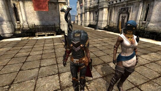 Headless females glitch - Hawke & Isabella