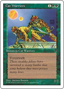 Cat Warriors CHR