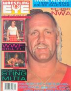 Wrestling Eye - March 1990