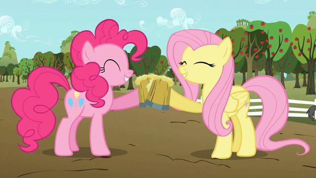 [Bild: 640px-Pinkie_Pie_and_Fluttershy_celebrat...S02E15.png]