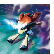 Keldeo Special Artwork