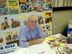 Don Rosa Dragon Con 2009