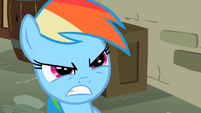 Rainbow Dash angry S2E8