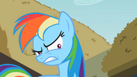 Rainbow Dash shrinking pupils S2E8