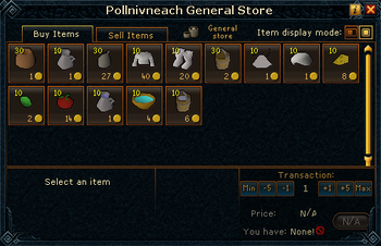 Pollnivneach General Store stock