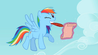 Rainbow Dash Winking S2E8