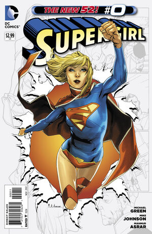 Cover for Supergirl #0