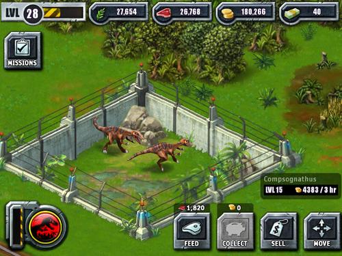 Compsognathus - Jurass...
