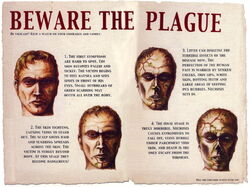 Plague Zombie Poster 1