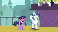 Shining Armor saluting S2E25