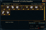 Rommik&#39;s Crafty Supplies stock