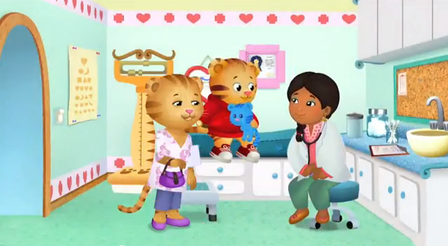 daniel visits the doctor daniel tiger 39 s neighborhood wiki. Black Bedroom Furniture Sets. Home Design Ideas