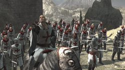 Siege of Masyaf Templars