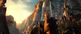 Bilbo in Rivendell - The Hobbit