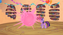 Twilight makes Spike spawn in front of her S2E10