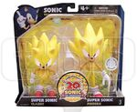 Jazwares Classic and Modern Super Sonic