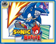 Sonic Battle Online Card